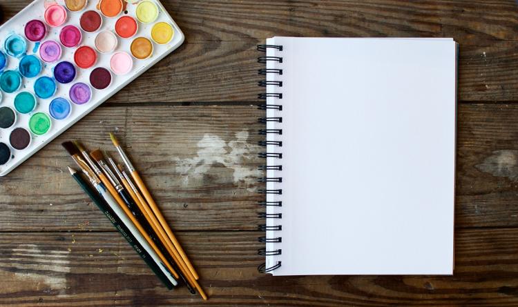 Cuaderno para pintar con acuarela