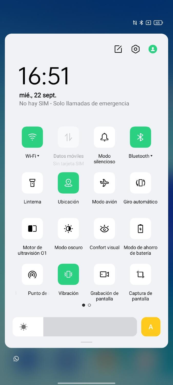 grabar pantalla móvil Android