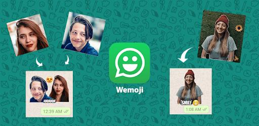 Wemoji para crear stickers de Whatsapp enAndroid