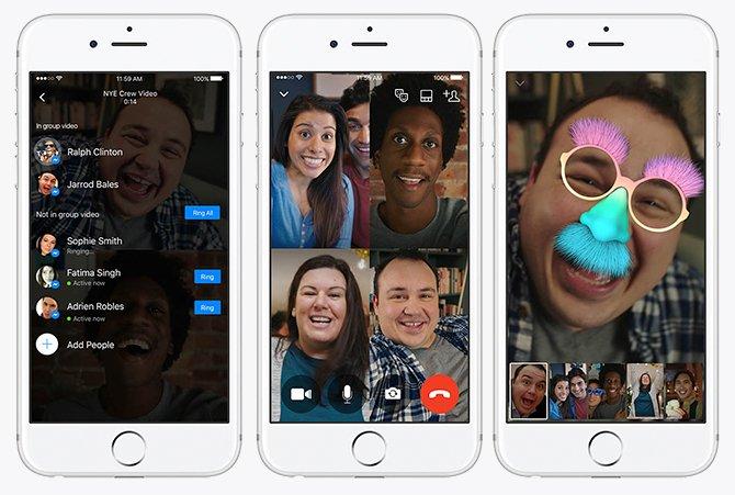 Llamadas en grupo con FaceTime