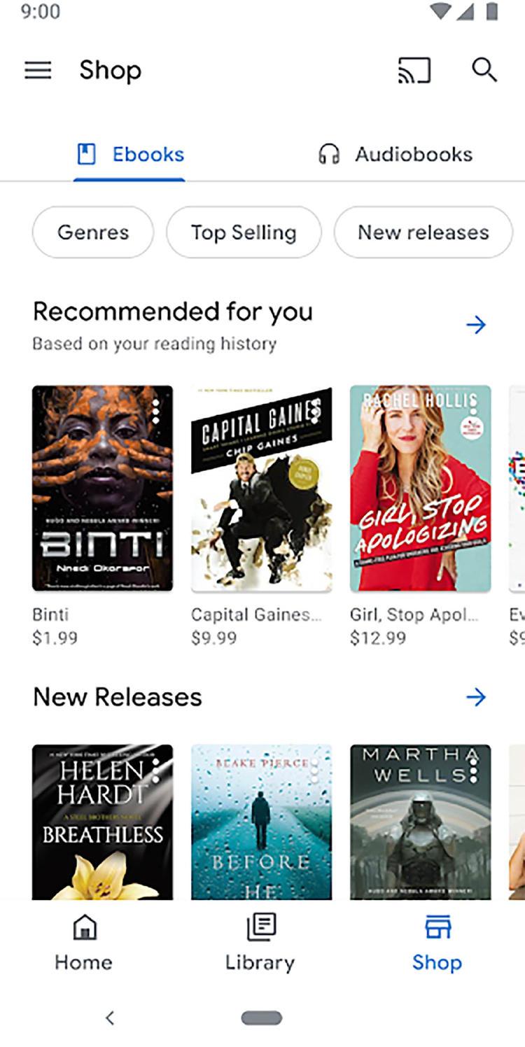 descargar google play books