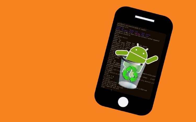 Borrar archivos ocultos de Android