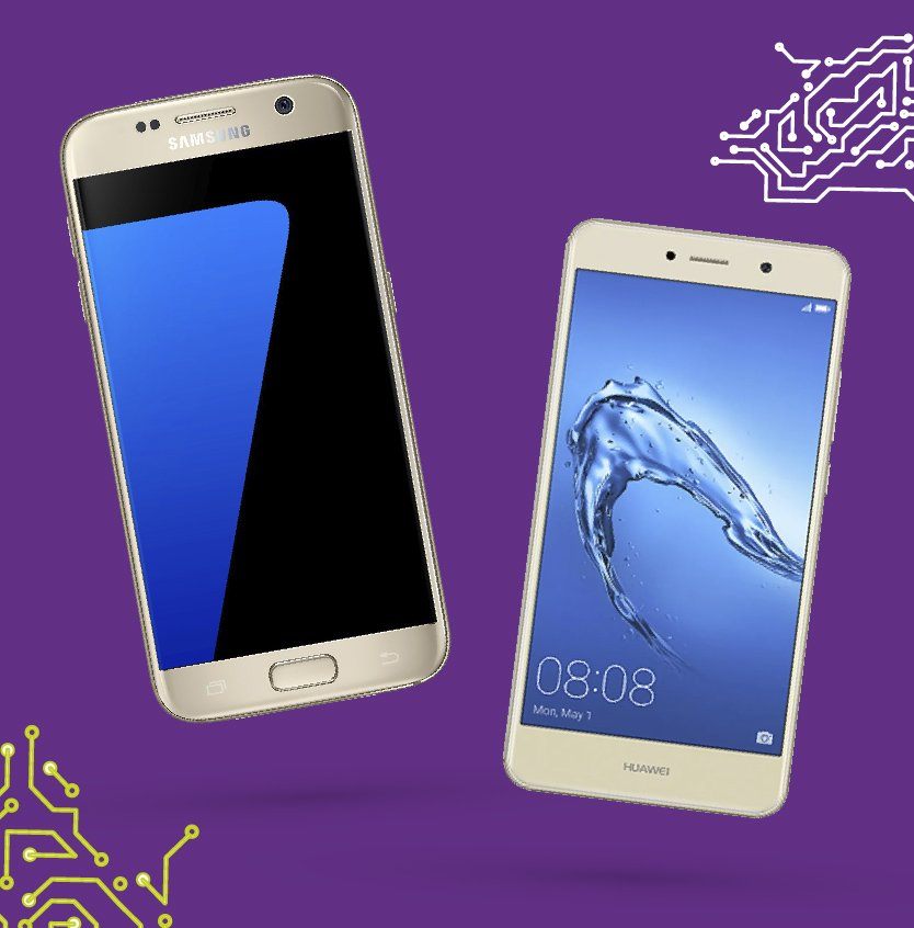 Ofertas Huawei Samsung