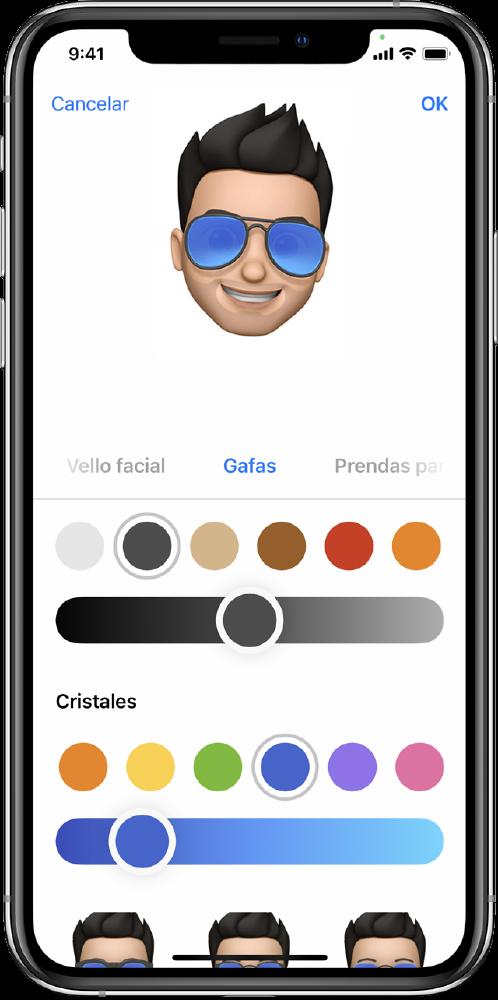 crear memoji iphone