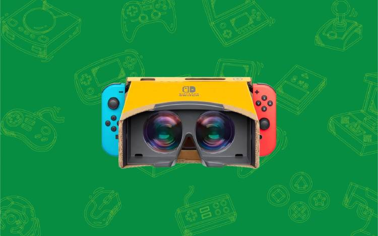 Gafas VR Nintendo Labo