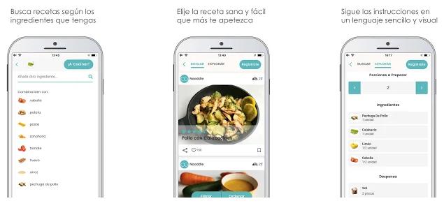 Noodle, la app para comer mejor