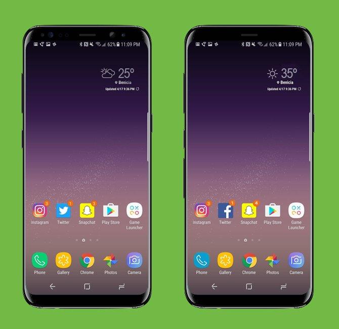 Samsung S8 vs Samsung Ese 8: encuentra las diferencias
