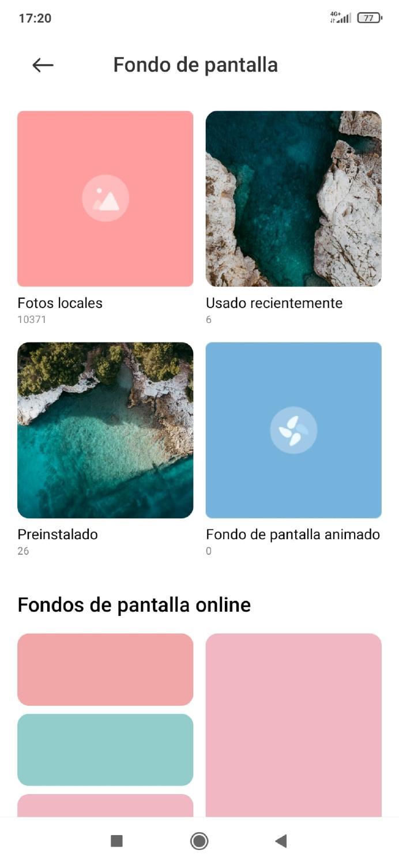 cambiar fondo de pantalla Android