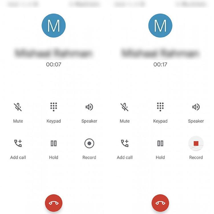 cómo grabar llamada Android 10