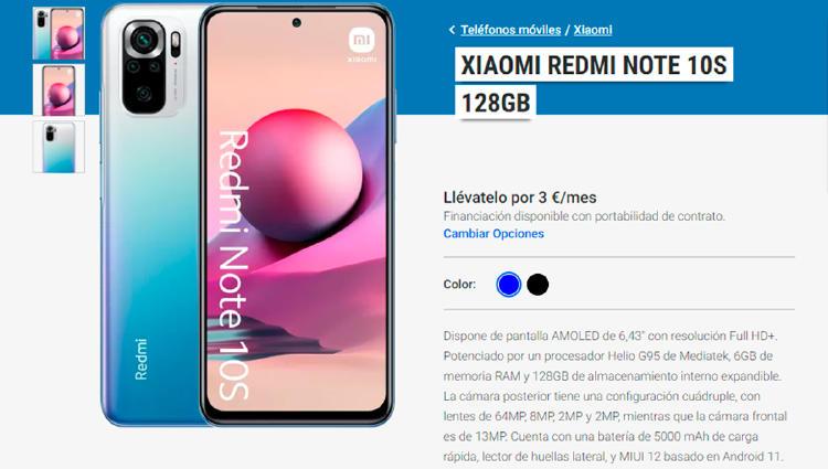 Redmi Note 10 Pro Yoigo