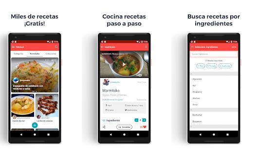 Hatcook, app de recetas sanas