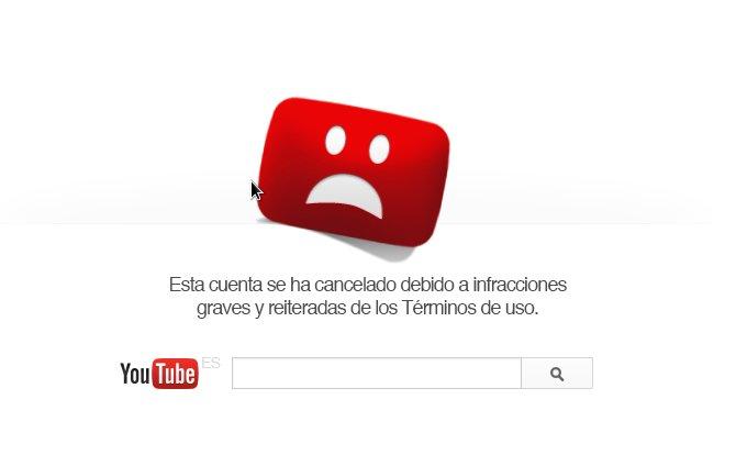Lo tuyo es tuyo y de YouTube también