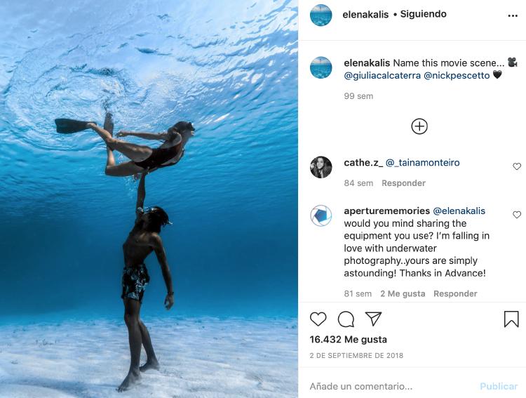 Instagram @elenakalis