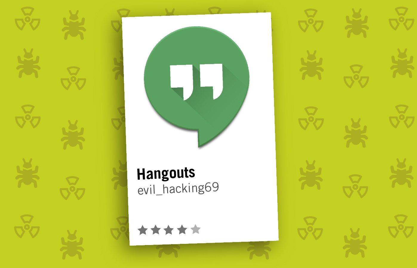 Apps Maliciosas Hangouts