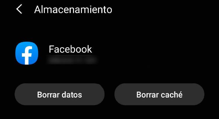 borrar datos app