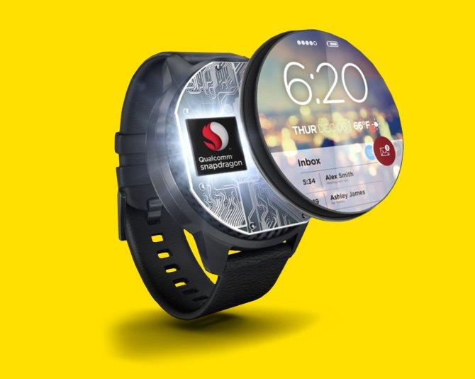 pantalla smartwatch