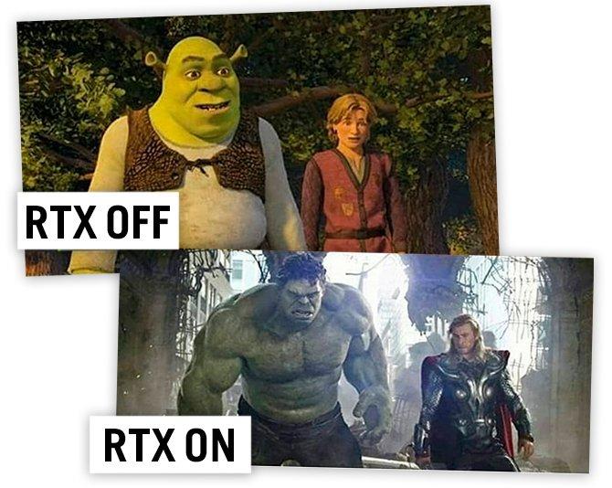 RTX-Shrek