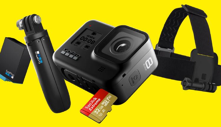 GoPro Hero 8 con accesorios