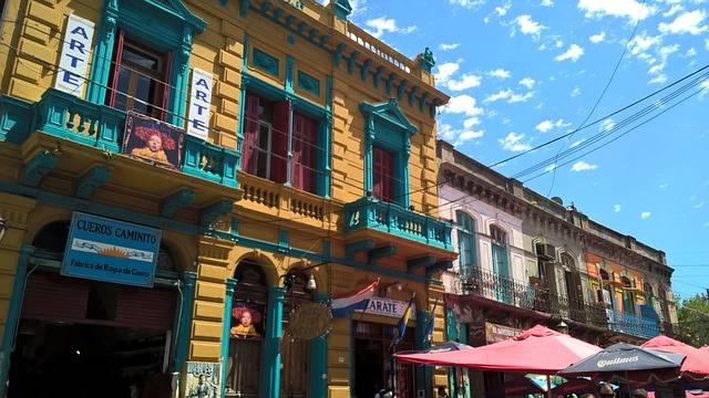 Buenos Aires, barrio de La Boca