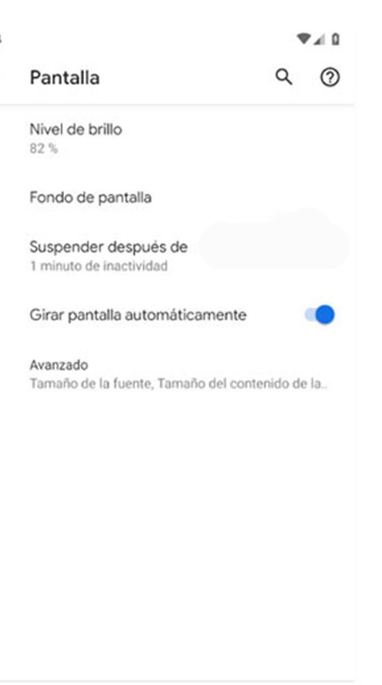 tiempo de espera Android