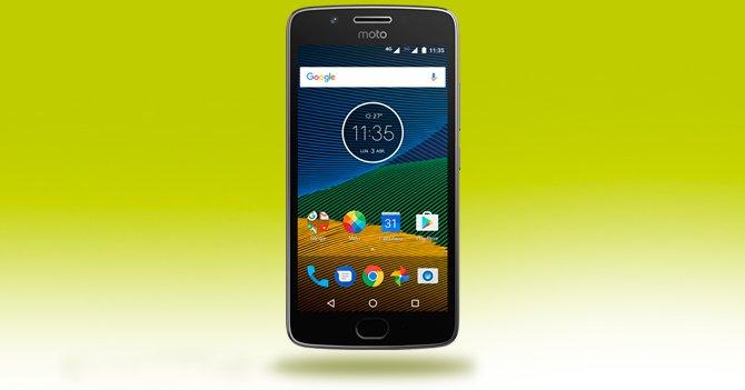 Motorola Moto G 5a