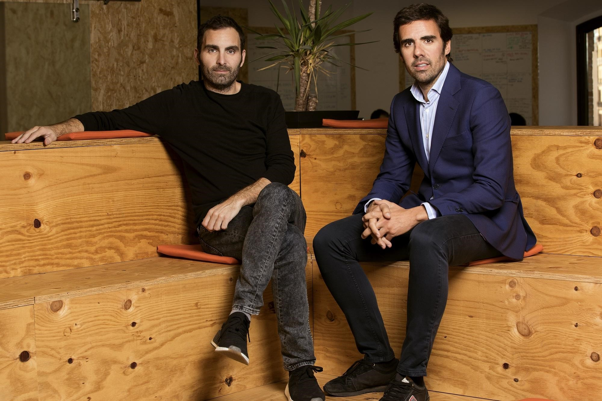 Christian Rodríguez y Guillermo Gaspart, fundadores de ByHours