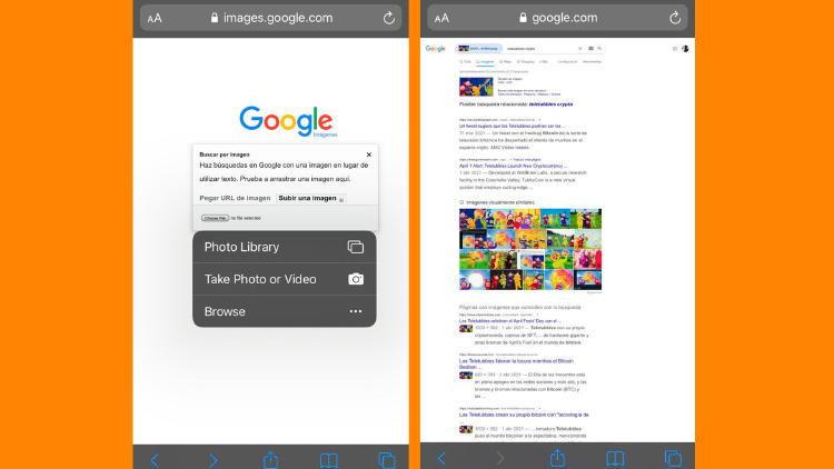 subir imagen google