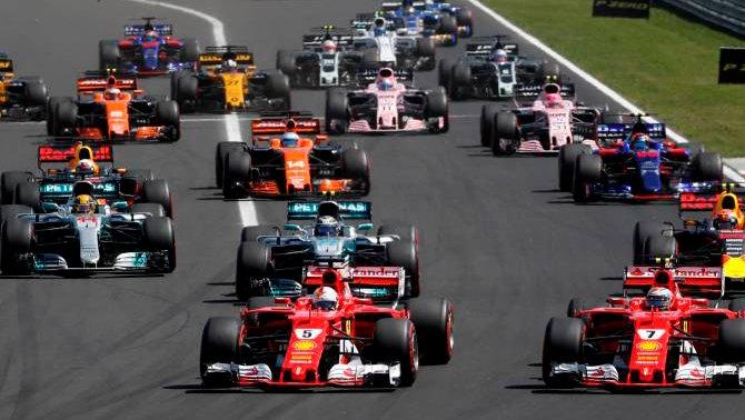 La ruta de la Fórmula 1 te espera