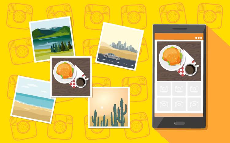 Viajes en Instagram